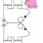 stand up pig craft