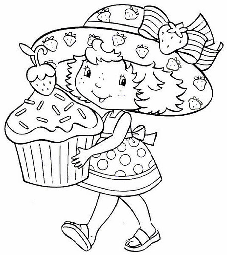 Starberry Shortcake Coloring Pages 5 Crafts And Worksheets For