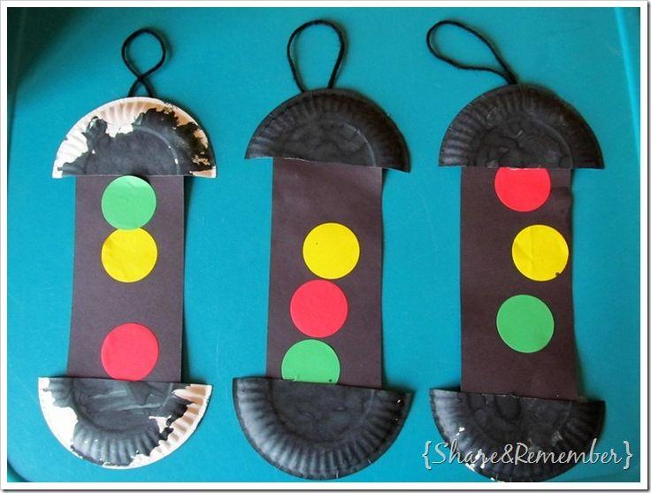 transportation crafts for toddlers