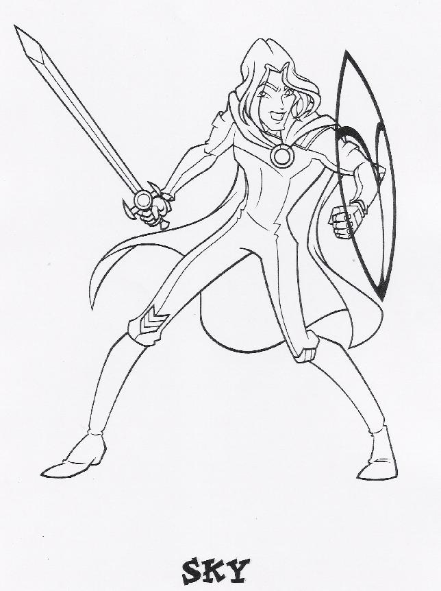 Winx Club Bloom Stella Musa Flora Tecna Layla Coloring Pages 43