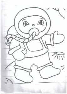 Astronaut coloring pages1