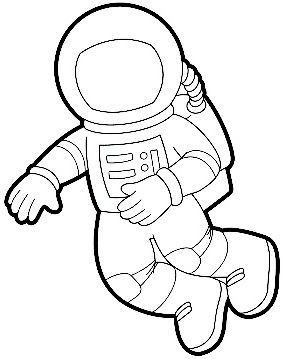 Astronaut Suit Crafts And Worksheets For Preschool Toddler And