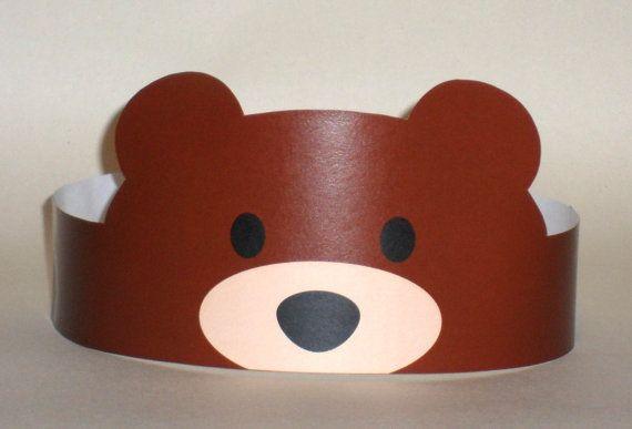 Bear Paper Crown – Printable