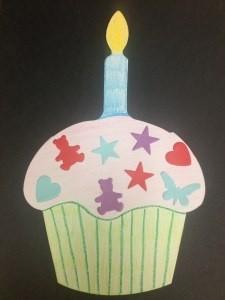 Birthday Cupcake Craft