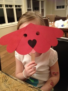 Clifford the Big Red Dog craft