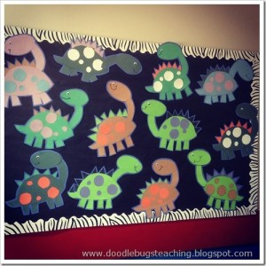 Cute dinosaur craft
