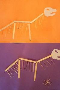 Dinosaur Bones craft