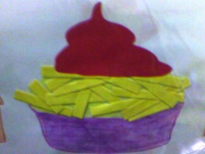 French fries craft