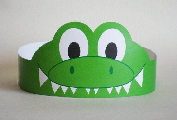 Gator Paper Crown – Printable