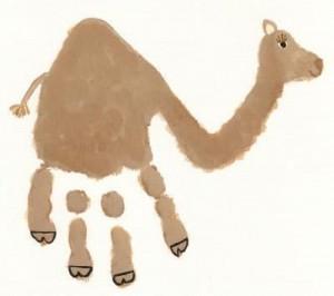 HandPrint camel