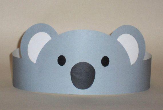 Koala Paper Crown – Printable