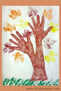 Leaf-Prints-Tree