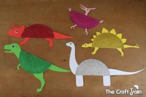 Make Paper Plate Dinosaurs