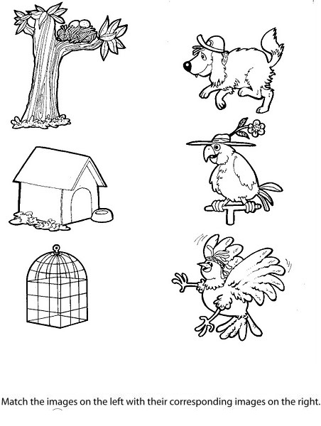 Coloring Pages Of Animals And Their Homes : Coloring pages of animals and their homes page