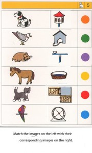 Matching animals to their home worksheet (8)