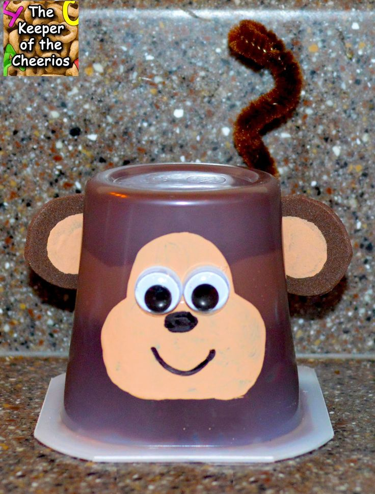 Monkey craft idea for kids Crafts