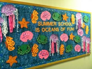 Ocean bulletin board 1