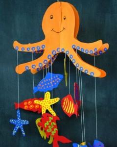Octopus Mobile craft