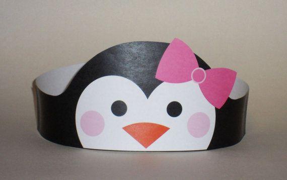 Penguin Girl Crown – Printable