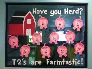 Pig Farm Bulletin Board