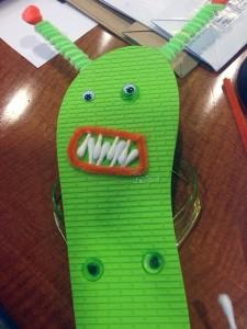 Qtip Flip-Flop-Monster
