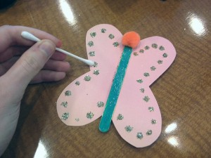 Qtipprint Butterfly craft