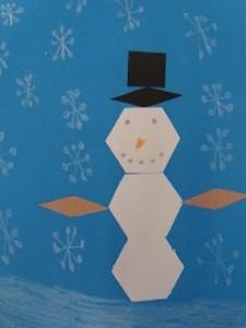 Shapes Snowman