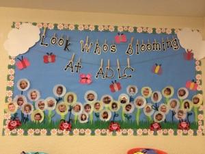 Spring Bulletin Board for Preschool