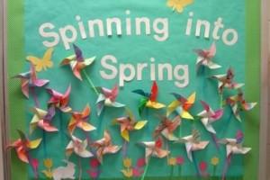 Spring bulletin board 2