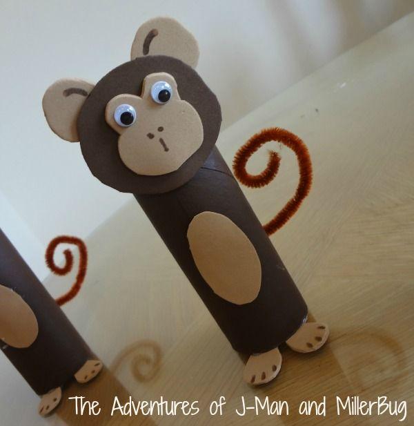 Toilet Paper Roll Monkeys