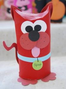 Toilet Tube Animals craft