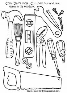 Tools coloring