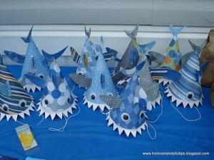 Under the sea shark hats