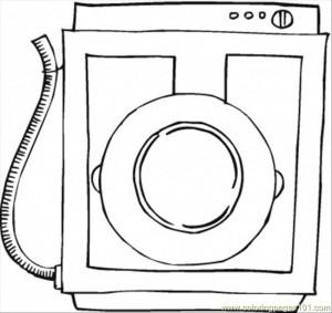 Washingmachine coloring
