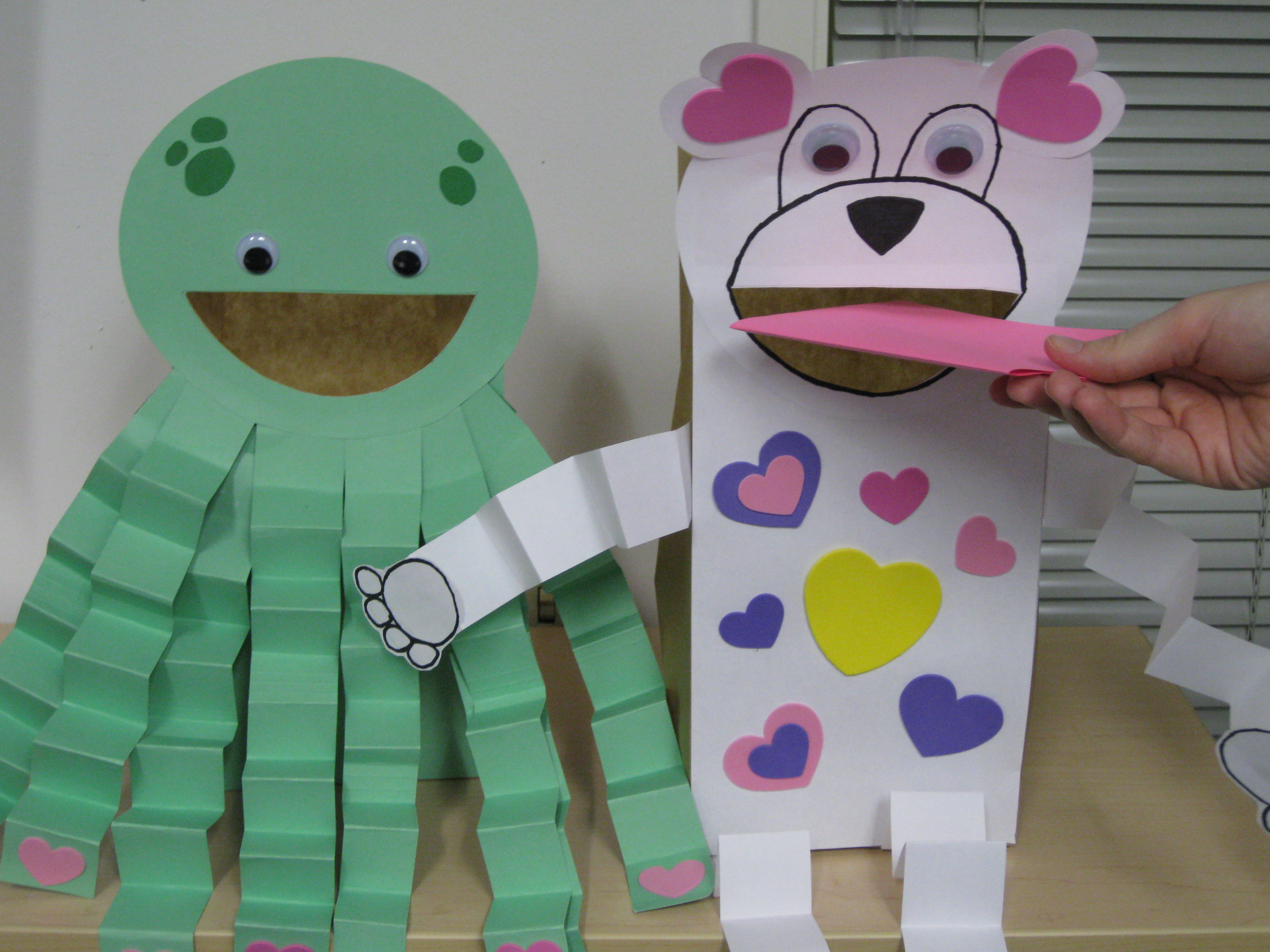 accordion animal craft idea for kids