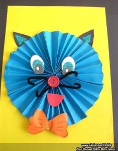 accordion cat craft