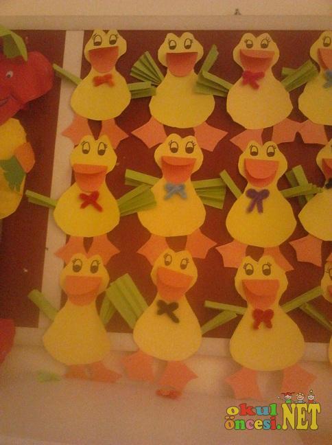 accordion duck craft