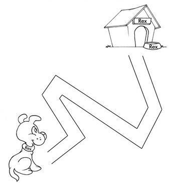 animal maze worksheets (17)