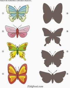 animal shadow match worksheets (2)