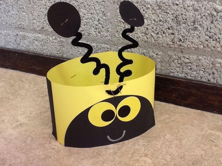 bee headband craft