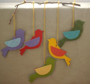 bird mobile craft