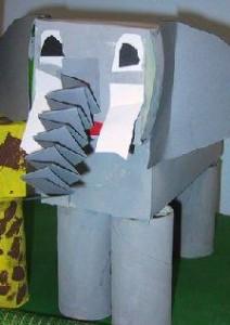 box elephant craft
