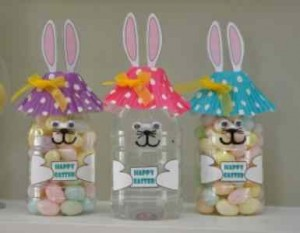 bunny Plastic Bottle Crafts