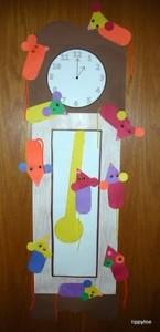 bunny clock craft for kids (3)