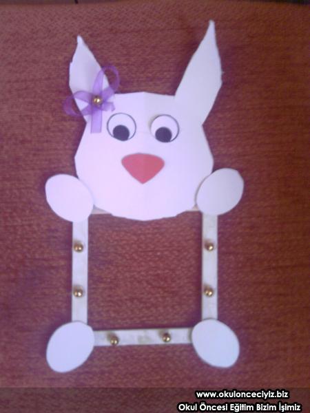 bunny frame craft