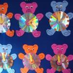 cd bear craft for kids