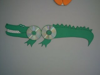 cd crocodile craft