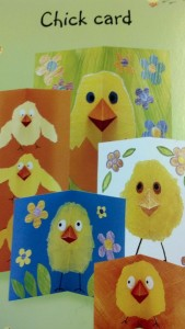 chick card craft