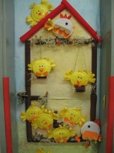 chicken farm bulletin board
