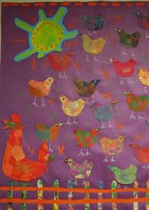 chicken farm craft